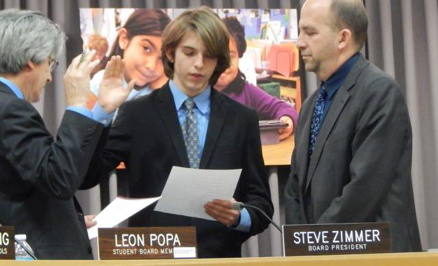 Leon Popa, former King student and son or current King teacher, Mrs. Dorina Popa